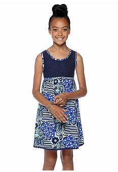 Red Camel Girls Lace Pattern Dress Girls 7-16