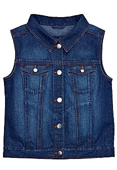 Red Camel Girls Denim Vest Girls 7-16