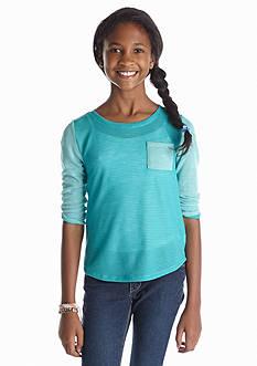 Red Camel Girls® Colorblock Sweater Knit Tee Girls 7-16