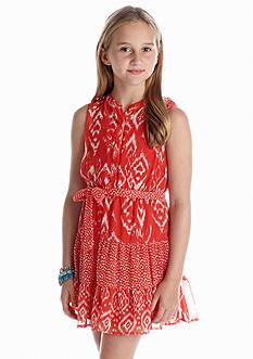 Red Camel Girls® Tribal Chiffon Dress Girls 7-16