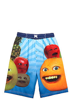 Annoying Orange Swim Trunk Boys 4-7