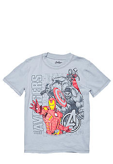 Marvel Avengers Foil Screen Tee Boys 4-7