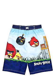 Angry Birds Swim Trunk Boys 4-7