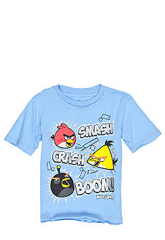 Angry Birds Foil Screen Tee Boys 4-7