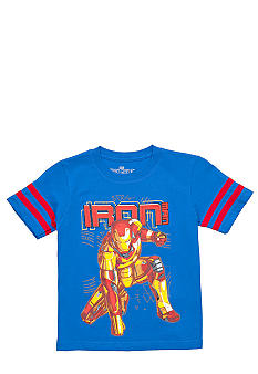 Marvel Ironman Breaking Tee Boys 4-7