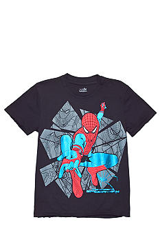 Marvel Spiderman Foil Screen Tee Boys 4-7