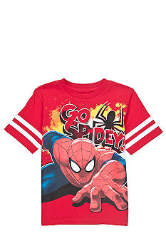 Marvel Heros On The Go Spiderman Tee Boys 4-7