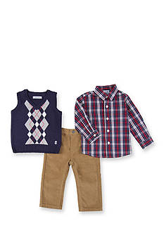 IZOD Blue Sweater Vest Set Boys 4-7