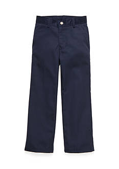 IZOD Basic Flat Front Twill Pants Boys 4-7