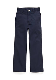 IZOD Basic Flat Front Pants Slim Boys 4-7