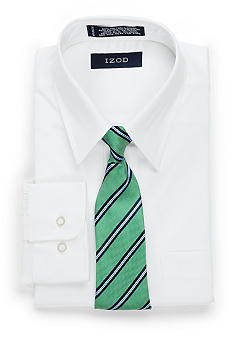Izod Shirt with Tie Set - Boys 4-7