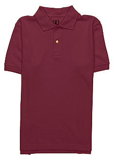 Izod Uniform Polo Knit Boys 4-7