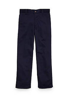 IZOD Basic Flat Front Twill Pants Boys 8-20
