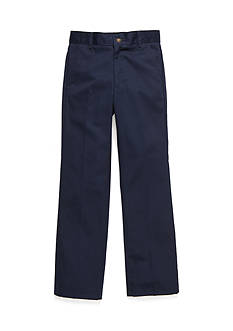 IZOD Basic Flat Front Pants Slim Boys 8-20