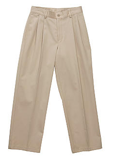 Izod Double Pleat Pant - Boys 8-20
