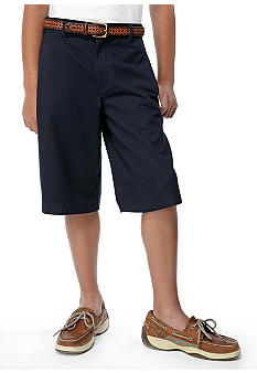 Izod Uniform Shorts Boys 8-20