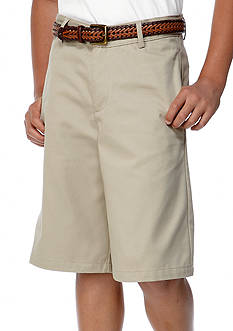 IZOD Uniform Flat Front Shorts Boys 8-20