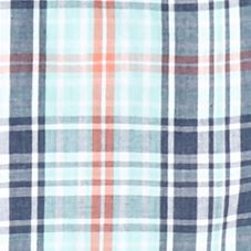 Boys Dress Clothes: Bright Blue IZOD Plaid Woven Shirt Boys 8-20