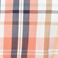 Izod Baby & Kids Sale: Bright Orange IZOD Plaid Woven Shirt Boys 8-20