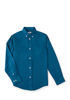 IZOD Solid Woven Shirt Boys 8-20