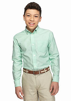 IZOD Solid Oxford Shirt Boys 8-20