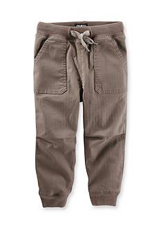 OshKosh B'gosh Twill Jogger Pants Boys 4-7