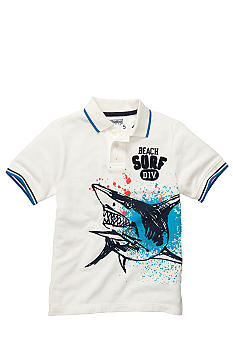 OshKosh B'gosh Shark Polo Boys 4-7
