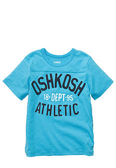 OshKosh B'gosh® Logo Athletic Tee Boys 4-7