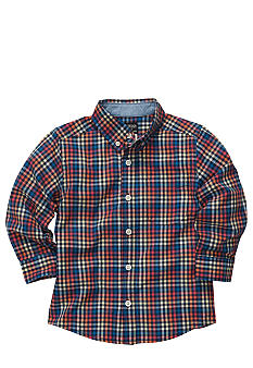 OshKosh B'gosh Plaid Woven Shirt Boys 4-7