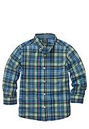 OshKosh B'gosh® Plaid Button Front Woven Shirt Boys 4-7