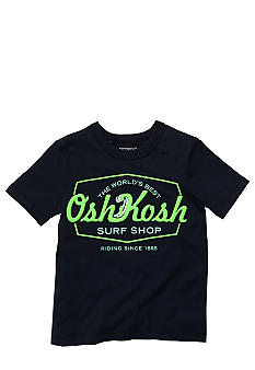 OshKosh B'gosh Navy Logo Tee Boys 4-7