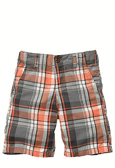 OshKosh B'gosh Plaid Oxford Short Boys 4-7