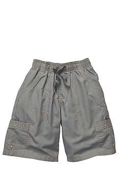 OshKosh B'gosh Gray Poplin Cargo Shorts Boys 4-7