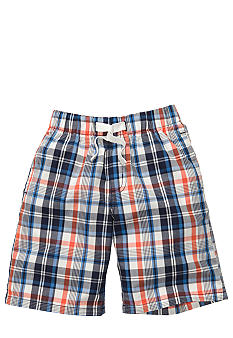 OshKosh B'gosh Plaid Poplin Short Boys 4-7