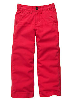 OshKosh B'gosh Red Flat Front Pant Boys 4-7