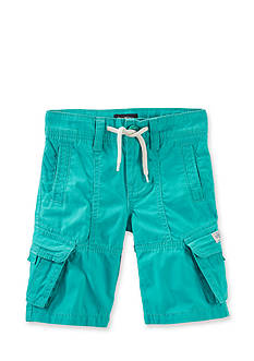 Carter's Solid Long Cargo Shorts Boys 4-7