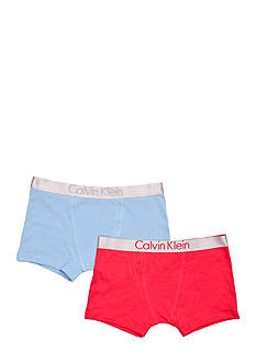 Calvin Klein 2-Pack Trunk Underwear Boys 4-20