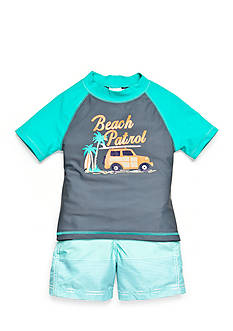 Carter's 2-Piece 'Beach Patrol' Swim Set Boys 4-7