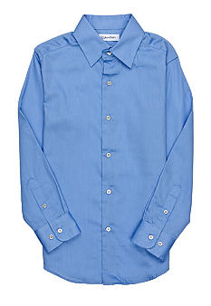Calvin Klein Long Sleeve Sateen Shirt Boys 4-7