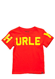 Hurley Read Me Tee Boys 4-7