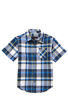 Hurley Button Front Woven Shirt Boys 4-7