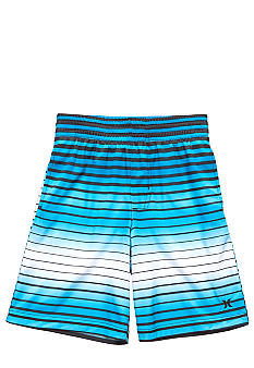 Hurley Stripe Mesh Shorts Boys 4-7