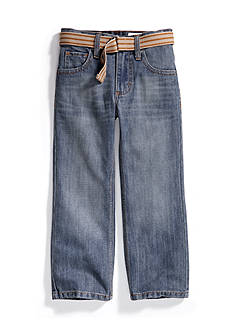 Lee Dungaree Belted Relaxed Bootcut Jean Boys 4-7