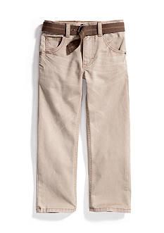Lee Dungaree Belted Slim Straight Leg Jean Boys 4-7