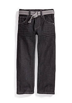 Lee Dungaree Slim Straight Leg Jeans Boys 4-7