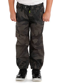 Lee Dungaree Relaxed Fit Drawstring Cargo Mini Ripstop Camo Pants Boys 4-7