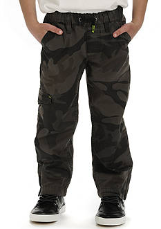 Lee Sport Ripstop Drawstring Cargo Pants Boys 4-7