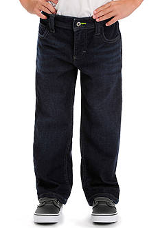 Lee Dungaree Straight Leg Denim Knit Jeans Boys 4-7