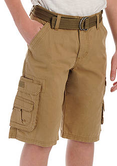 Lee Dungaree Wyoming Belted Shorts Boys 8-20