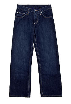 Lee Relaxed Straight Leg Husky Denim Boys 8-20